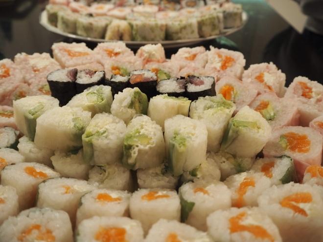 sushi tower