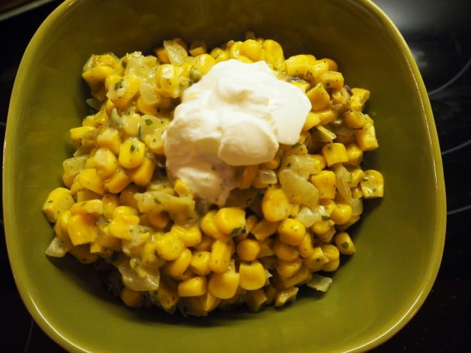 corn mexican recipe mais maïs recette mexicaine mexikanisch