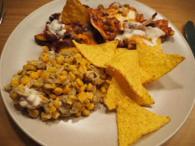 Mexican Tortilla Corn Chilli