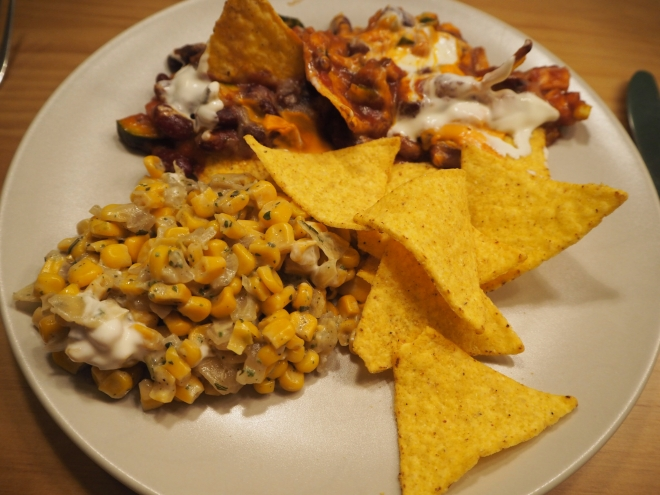 Mexican Tortilla Corn Chilli