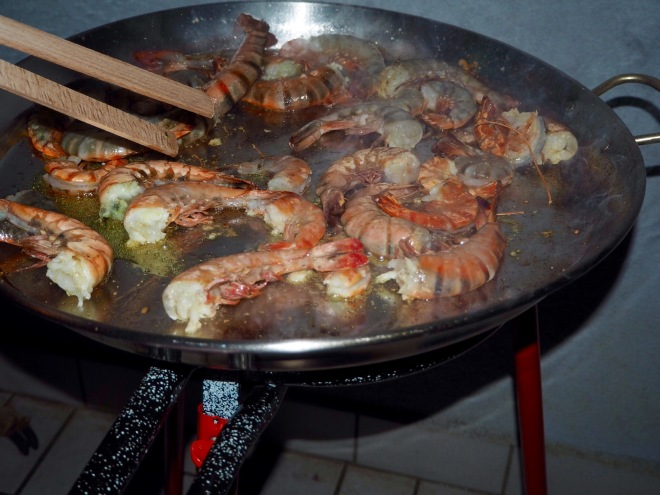 Seafood Paella Step by Step