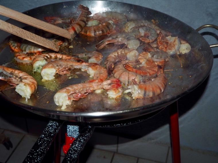 Seafood Paella Step by Step