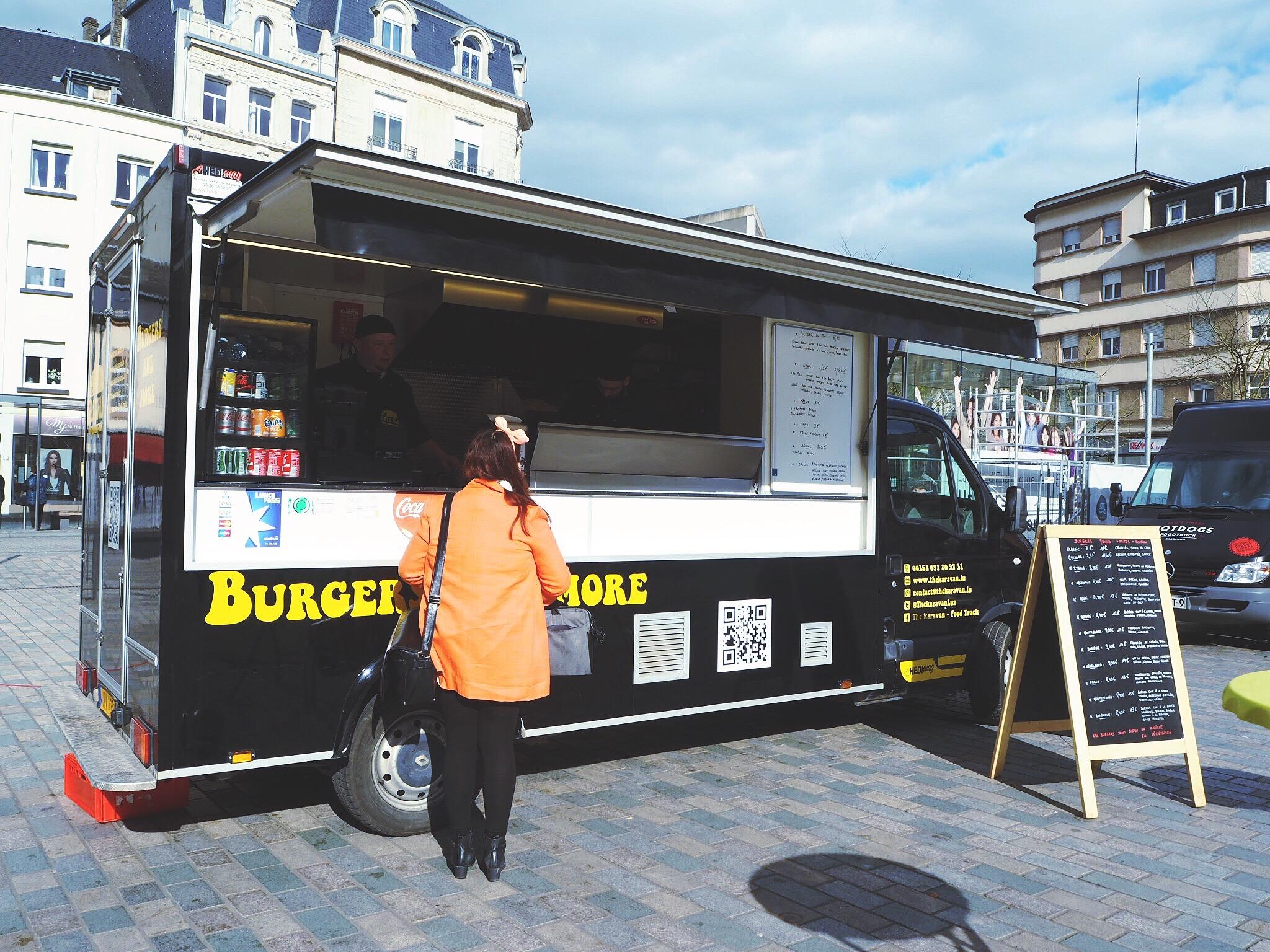 burger foodtruck in esch-sur-alzette